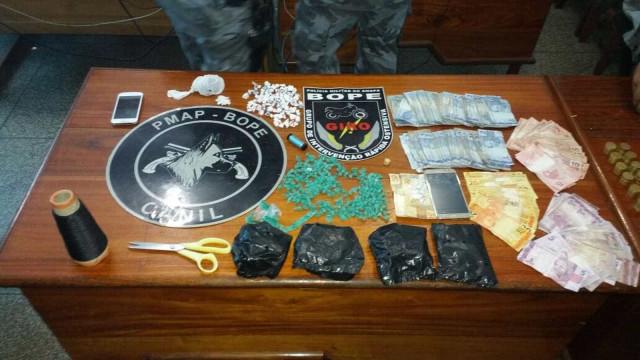 Polícia encontra droga escondida na cintura de menina de sete anos