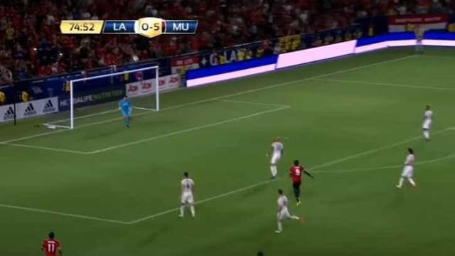 Estreia de Lukaku no United: Boas indicações e um remate para a lua