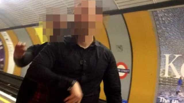 Londres: Tentou tirar véu de mulher em pleno metro
