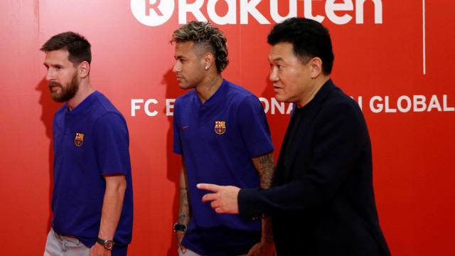 UEFA não recebeu queixas mas irá investigar transferência de Neymar