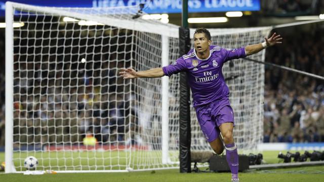 """""""O Cristiano está feliz no Real Madrid"""""""