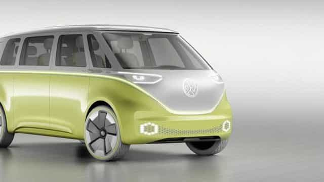 A icónica carrinha 'pão-de-forma' terá direito a um modelo elétrico