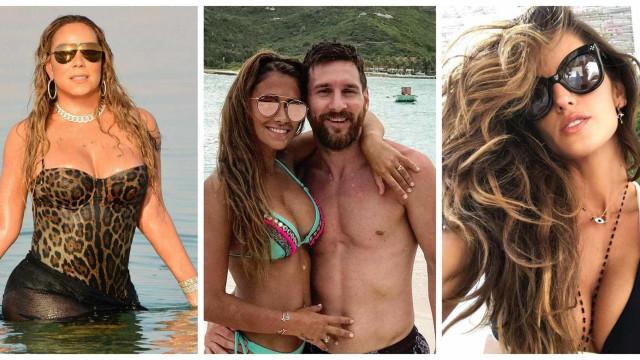 Conheça os destinos procurados pelas celebridades para passar férias