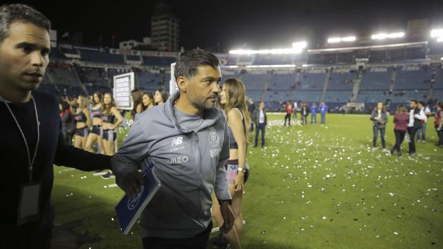 """Sérgio Conceição e a derrota no México: """"Tivemos situações para ganhar"""""""