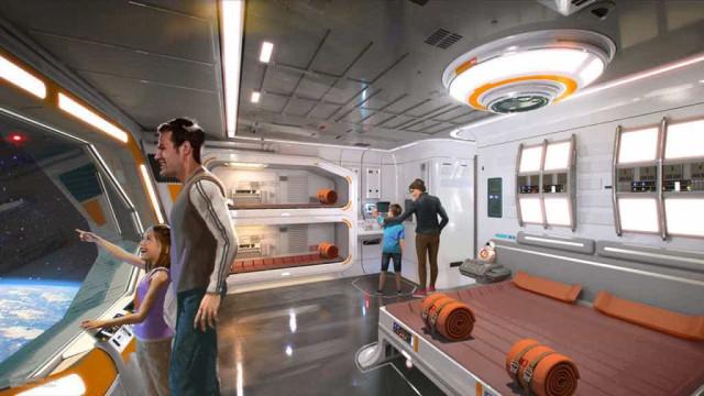 Hotel imersivo de Star Wars vai abrir numa galáxia não muito distante