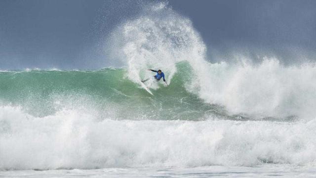"""Kikas apresentou uma nova língua ao mundo do surf: """"Obrigado Portugal"""""""