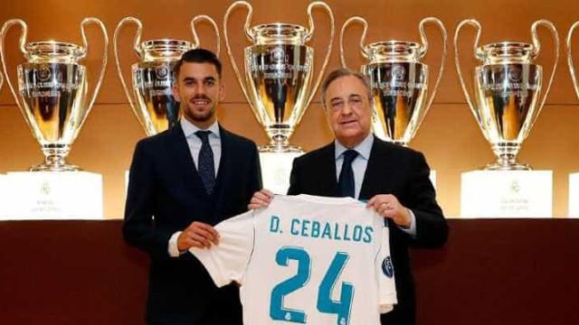 """Real Madrid apresenta Ceballos: """"O meu sonho de infância era estar aqui"""""""