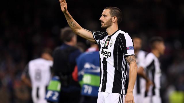 """Bonucci tem """"fome de títulos"""" e deixa promessa aos adeptos do AC Milan"""