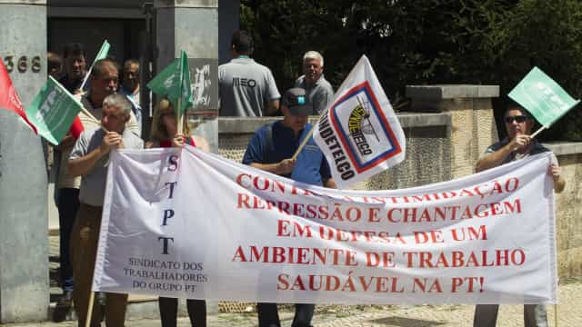 Trabalhadores PT/Meo pedem reunião urgente a Costa e ameaçam nova greve