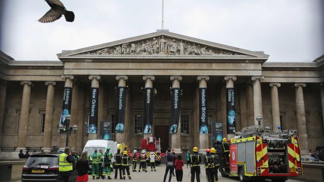 Museu Britânico evacuado por questões de segurança