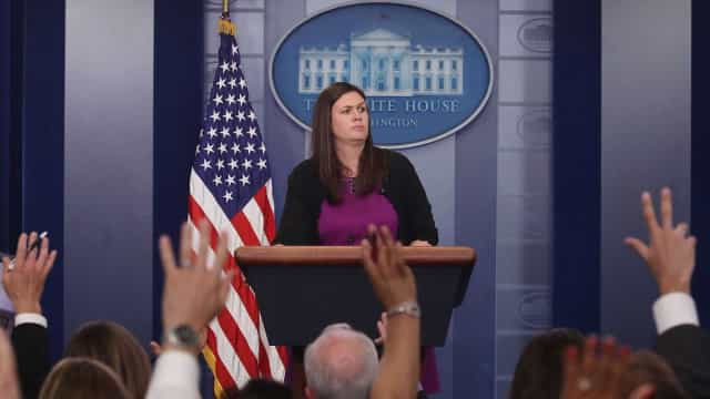 Sarah Sanders designada nova porta-voz da Casa Branca