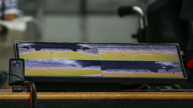 O vídeoárbitro foi utlizado nove vezes no V. Setúbal-Sp. Braga