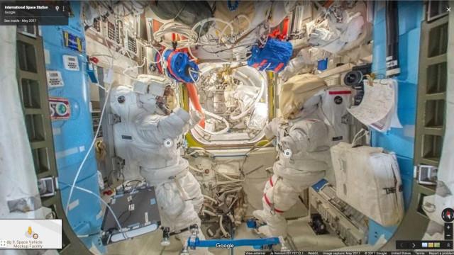 Faça uma visita à Estação Espacial Internacional sem sair do planeta