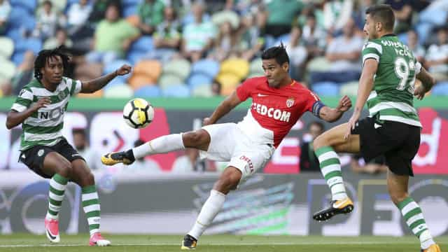 [2-1] Sporting-Monaco: Guido Carrillo reduz para o Monaco