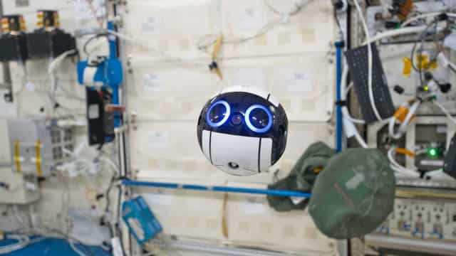 A Estação Espacial Internacional tem um novo ocupante... e é adorável