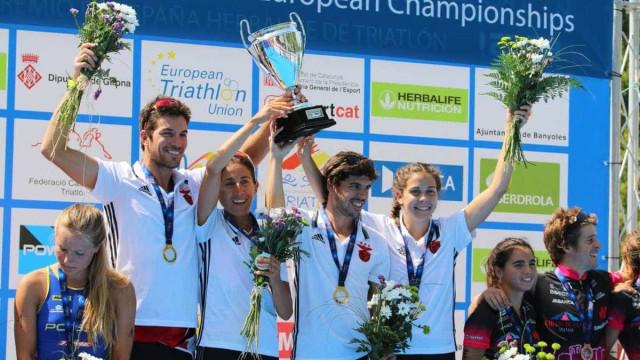 Benfica sagra-se campeão europeu de triatlo