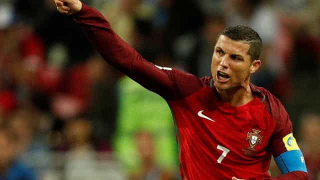 """""""Se não me chamasse Cristiano Ronaldo não estaria aqui sentado"""""""