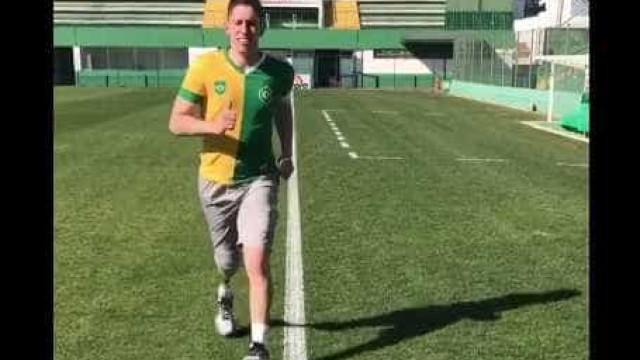 Follmann volta a correr depois da tragédia da Chapecoense