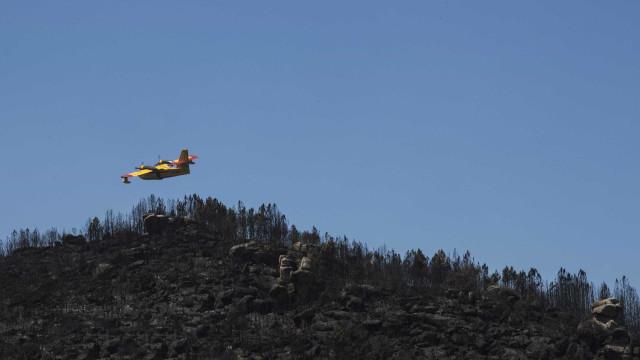 Avião realiza hoje voo de vigilância no Algarve devido a risco de fogo
