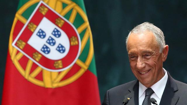 """""""Vós sois os melhores dos melhores"""", diz Marcelo à Seleção"""
