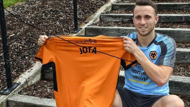Oficial: Wolverhampton anuncia Diogo Jota