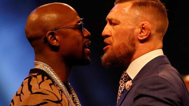Mayweather-McGregor: Bilhetes esgotados apesar de preços 'assustadores'