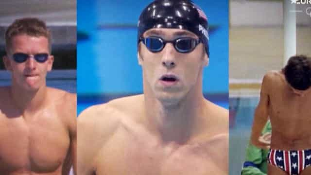 Phelps, Spitz e Gross a competir em simultâneo? Sim, é possível