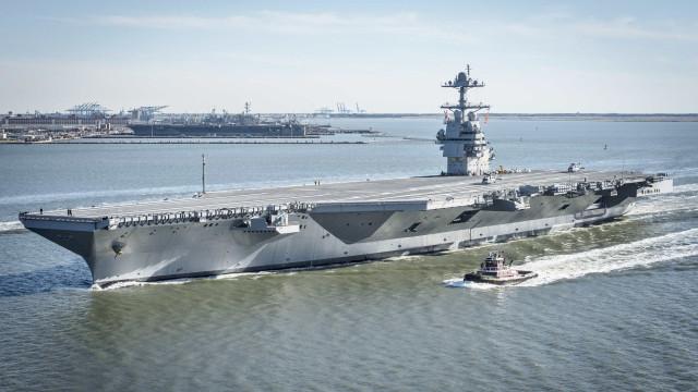 USS Gerald R. Ford, o novo porta-aviões dos EUA que não tem urinóis