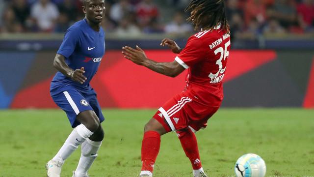Renato Sanches titular na vitória do Bayern diante do Chelsea