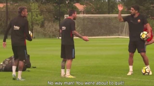 Neymar, Messi ou Suárez... Quem ganha na pontaria?