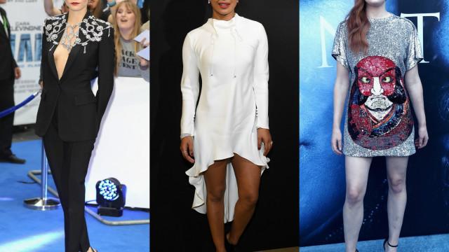 Os melhores looks dos famosos no mês de julho