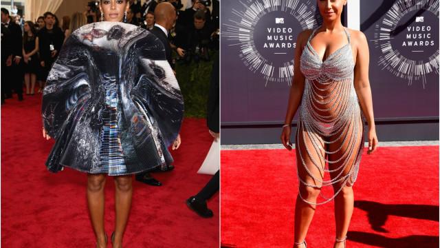 Serão estas as indumentárias mais desconfortáveis já usadas por famosas?