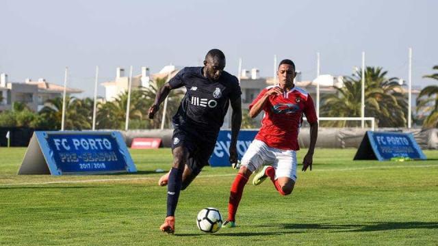 FC Porto venceu jogo treino no estágio do Algarve