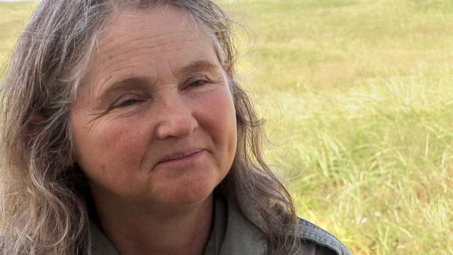 Zoe Lucas, de 67 anos, é a única habitante de uma ilha no Atlântico