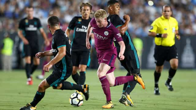 Manchester City de Guardiola goleia Real Madrid