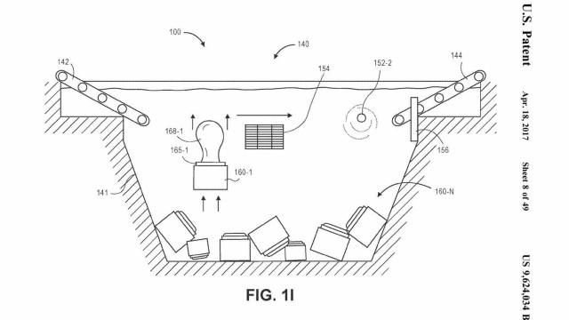 Amazon quer vir a ter armazéns debaixo de água
