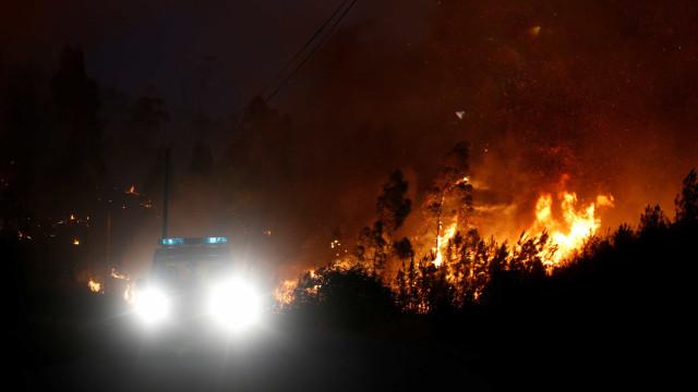 Algumas aldeias de Cascais de sobreaviso para possível evacuação
