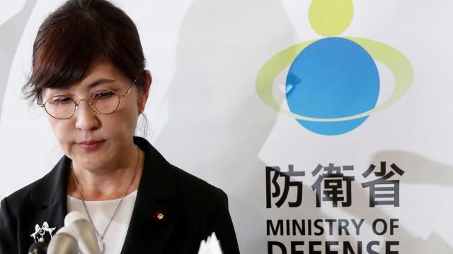 Ministra da Defesa do Japão demite-se após ocultação de dados