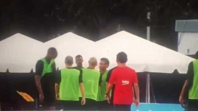 O momento que espoletou a confusão entre Neymar e Nélson Semedo