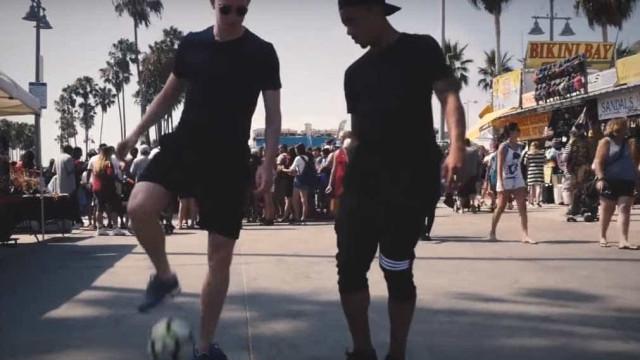Gabriel Jesus e Kevin De Bryune distribuíram 'cuecas' em Los Angeles
