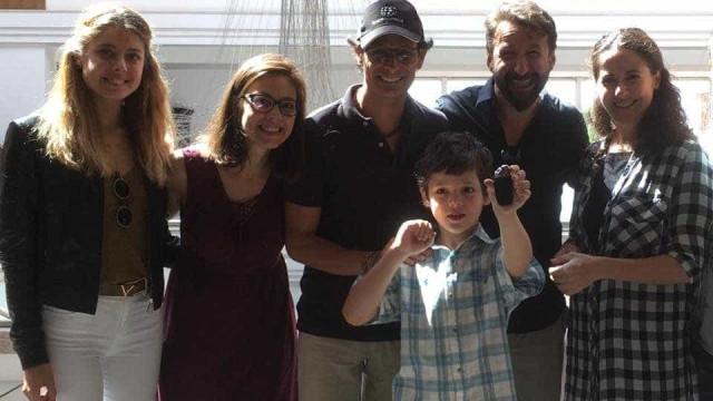 Vídeo: Ator Philipe Leroux conseguiu cumprir o sonho do filho autista
