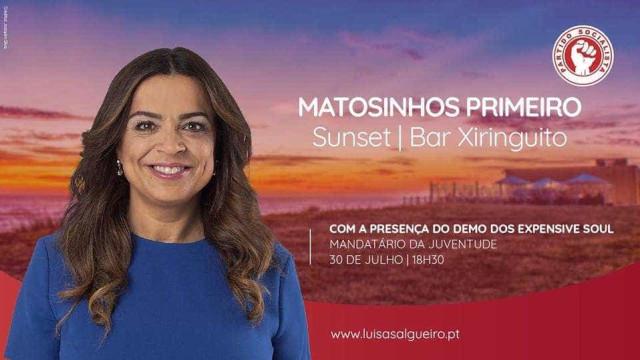 PS/Matosinhos apresenta mandatário para a juventude em sunset