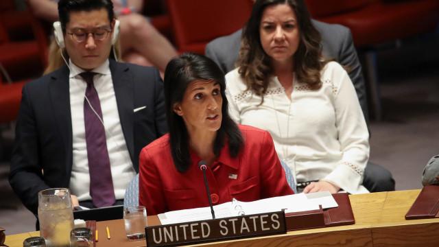 EUA dizem-se empenhados na paz e criticam hostilidade contra Israel
