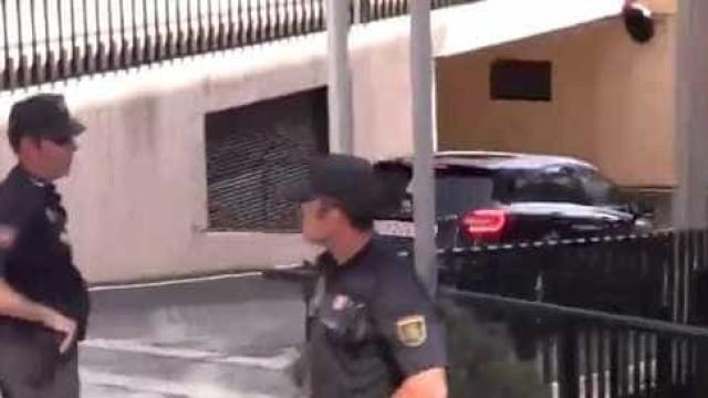 Assim foi a chegada de Cristiano Ronaldo a tribunal