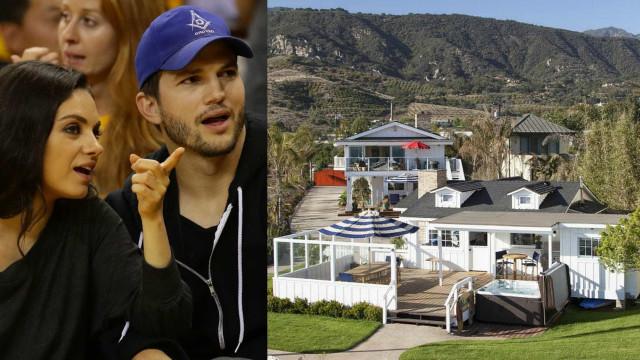 Conheça a casa de verão de Ashton Kutcher e Mila Kunis
