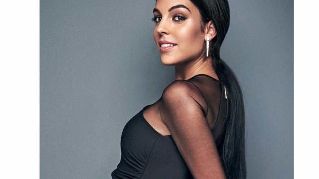 Fãs elogiam Georgina por ter levado o filho de Ronaldo ao hospital