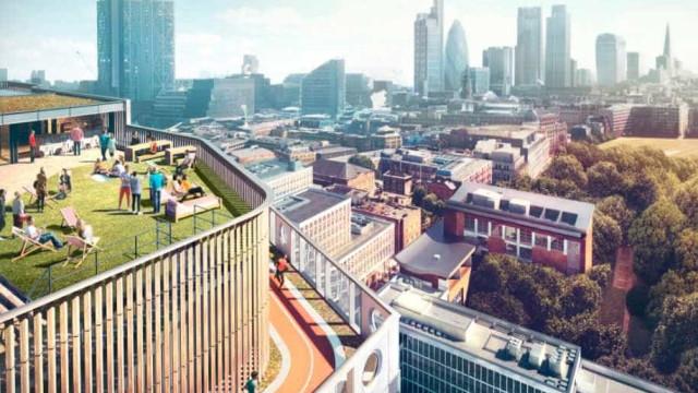 Os novos escritórios da Adobe até têm pista de corrida no terraço