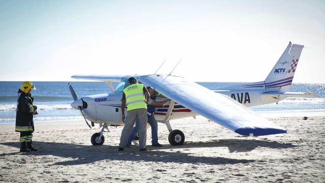 Instruendo da avioneta que aterrou na Caparica já saiu do tribunal