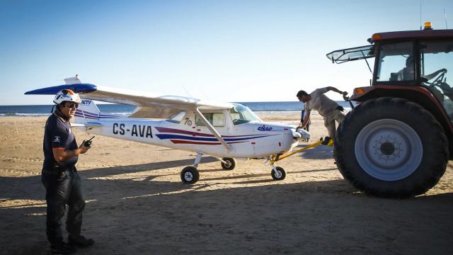 Aeronave removida do areal, pilotos ouvidos, Ministério Público investiga