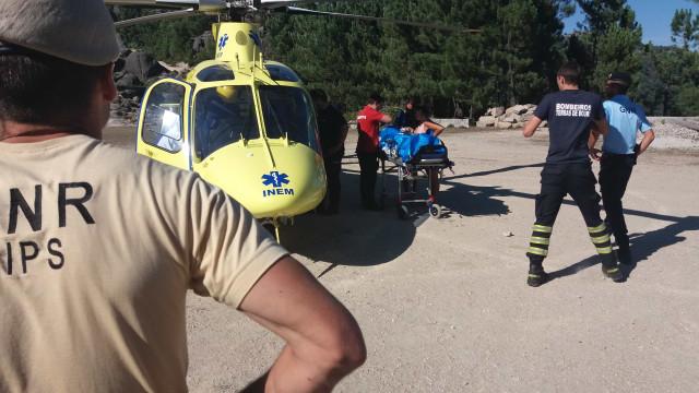 Criança resgatada no Gerês após queda em zona de rochedo